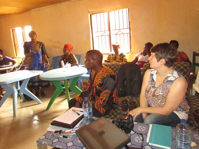 PDO in training with Vigilante Committees in Lower Bafut