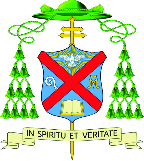 Coat of Arms Archbishop Andrew Nkea