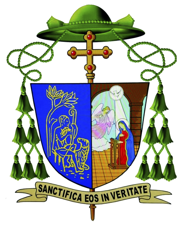Coat of Arms Auxiliary Bishop Michael M. Bibi
