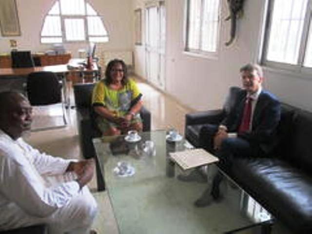 JPC Coordinator With German Foreign Minister