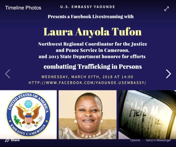 U. S. EMBASSY YAOUNDE INVITES THE COORDINATOR FOR A FACEBOOK LIVESTREAMING.jpg
