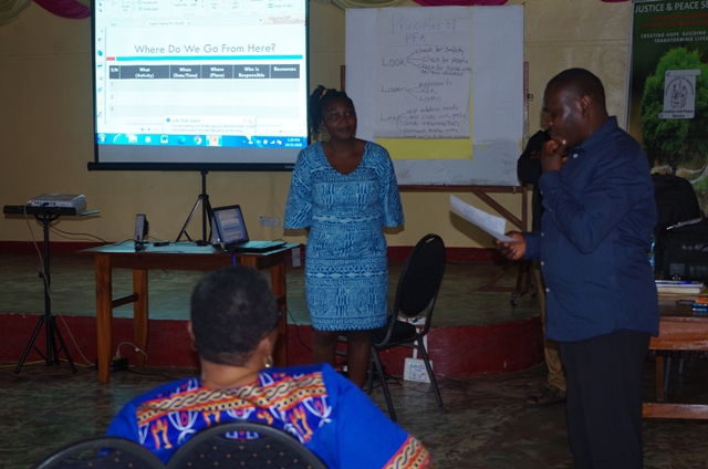 Justice & Peace Organizes Workshop on Stress Management,  Trauma Healing & Resilience.