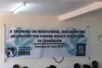 The Justice & Peace Service supports the Center for Human Rights and Democracy in Africa (CHRDA) to Organize Workshops on Monitoring, Documenting & Reporting Human Rights Violations