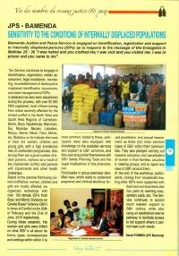 Our Work as a Structure of the National Network for Justice & Peace of the Episcopal Conference of Cameroon (NECC) is Highlighted in No. 27 Edition of Le Lien NKENG-SHALOM