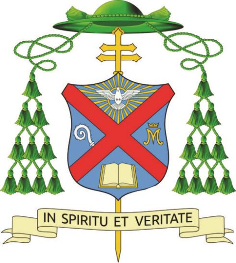 Coat of Arms Archbishop Andrew Nkea1